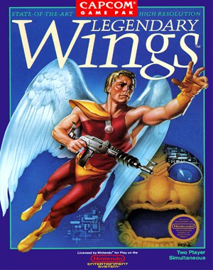 Legendary Wings NES  front cover