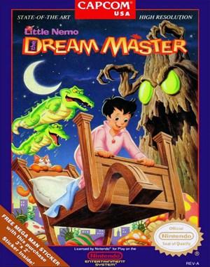 Little Nemo: The Dream Master NES  front cover