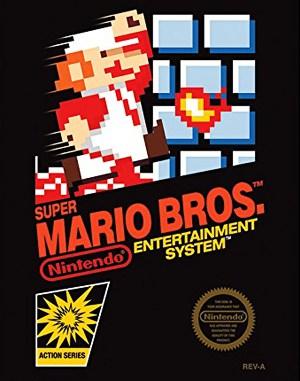 Mario Bros. NES  front cover