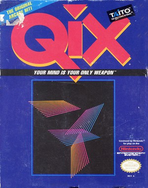 QIX NES  front cover
