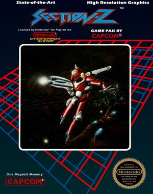 Section Z NES  front cover