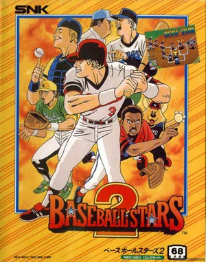 Baseball Stars 2 Neo Geo front cover