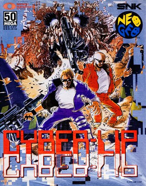 Cyber-Lip Neo Geo front cover