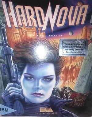 Hard Nova DOS front cover