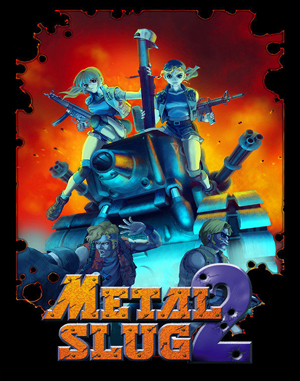 Metal Slug 2: Super Vehicle – 001/II Neo Geo front cover