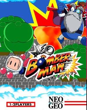Neo Bomberman Neo Geo front cover