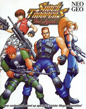 Shock Troopers: 2nd Squad Neo Geo front cover
