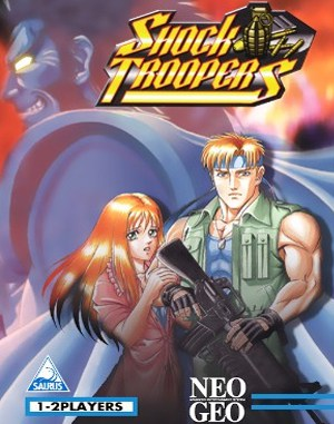 Shock Troopers Neo Geo front cover