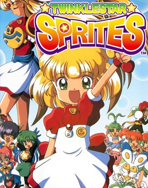 Twinkle Star Sprites Neo Geo front cover