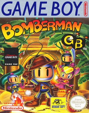 Bomberman GB Game Boy front cover