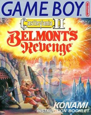 Castlevania II: Belmont's Revenge Game Boy front cover