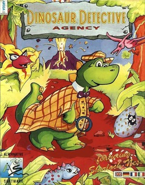 Dinosaur Detective Agency DOS front cover