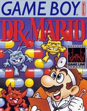 Dr. Mario Game Boy front cover