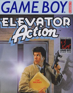 Elevator Action Game Boy front cover