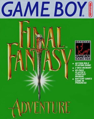 Final Fantasy Adventure Game Boy front cover