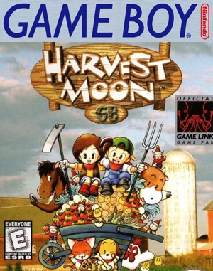 Harvest Moon GB DOS front cover