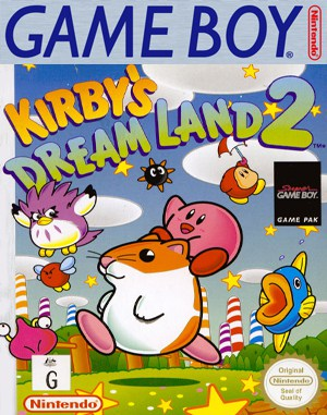 Kirby's Dream Land 2 Game Boy front cover