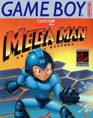 Mega Man: Dr. Wily's Revenge Game Boy front cover