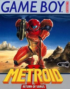 Metroid II: Return of Samus Game Boy front cover