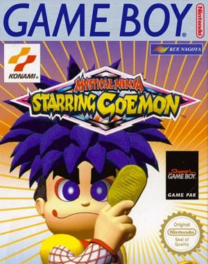 Mystical Ninja Starring Goemon Game Boy front cover