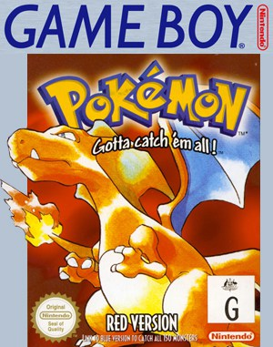 Pokémon Red Version Game Boy front cover