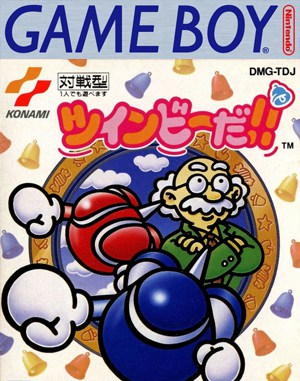 Pop'n TwinBee Game Boy front cover
