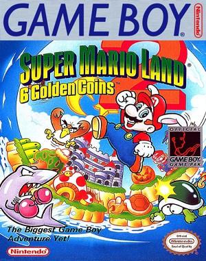 Super Mario Land 2: 6 Golden Coins Game Boy front cover