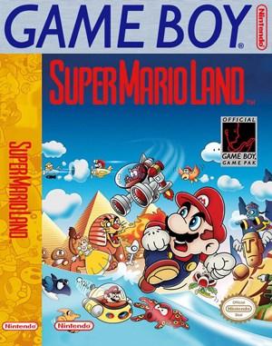 Super Mario Land Game Boy front cover