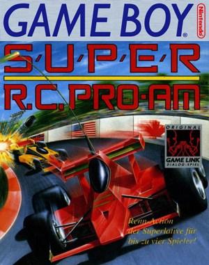 Super R.C. Pro-Am Game Boy front cover