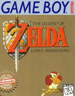 The Legend of Zelda Link's Awakening Game Boy front cover