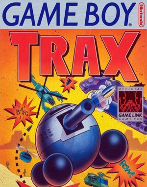 Trax Game Boy front cover