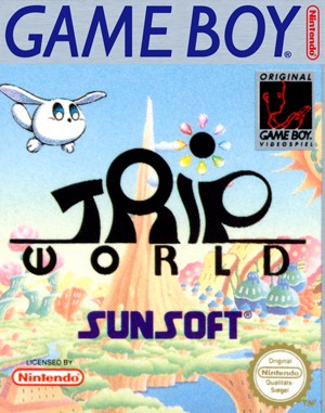 Trip World Game Boy front cover
