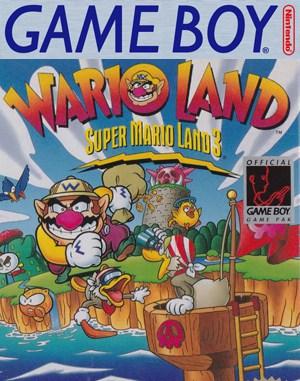 Wario Land: Super Mario Land 3 Game Boy front cover