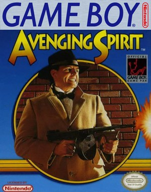 Avenging Spirit Game Boy front cover
