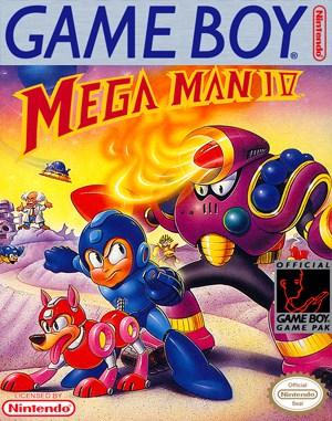 Mega Man IV Game Boy front cover