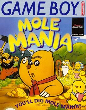 Mole Mania Game Boy front cover