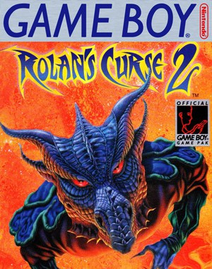 Rolan's Curse II Game Boy front cover