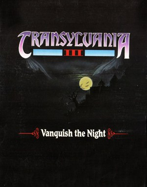 Transylvania III: Vanquish the Night DOS front cover
