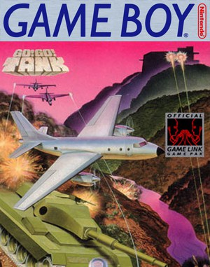 Go! Go! Tank Game Boy front cover