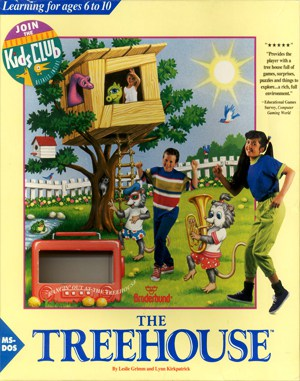 The Treehouse DOS front cover