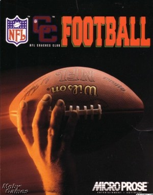 Ultimate NFL Coaches Club Football DOS front cover