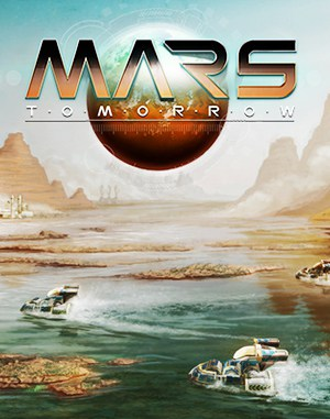Mars Tomorrow  front cover