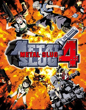 Metal Slug 4 Neo Geo front cover