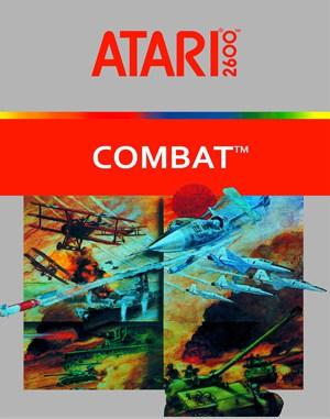 Combat Atari-2600 front cover