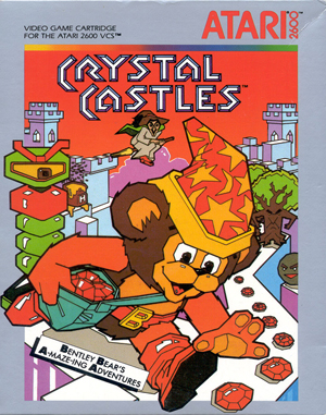 Crystal Castles Atari-2600 front cover