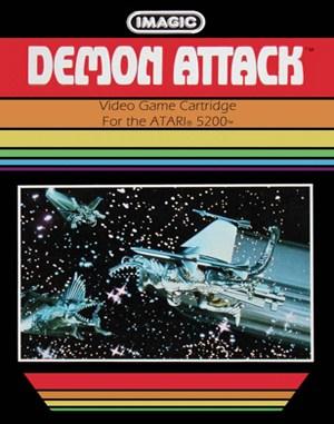 Demon Attack Atari-2600 front cover