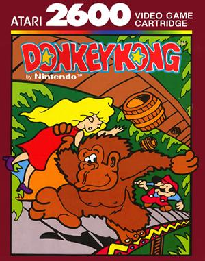 Donkey Kong Atari-2600 front cover