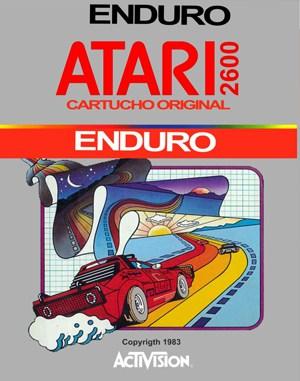 Enduro Atari-2600 front cover