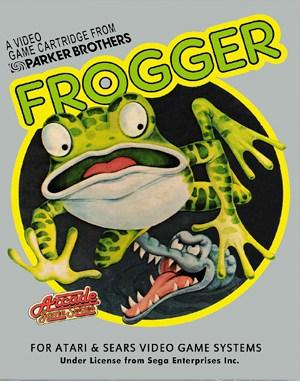 Frogger Atari-2600 front cover