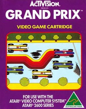 Grand Prix Atari-2600 front cover